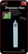 1pc Pen BLACK Tip Empty 15ml Pen Bottle Nozzle Tip -Ideal for filling GEMTAC, Quilling, Craft, Glue, Glaze, Oil Bling my shoes Trademark UK00003085705