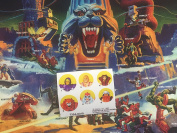 MOTU Masters of the Universe repro stickers for 1984 ORKO tokens
