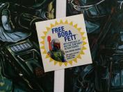 Star Wars Vintage Custom repro die cut stickers/decals/labels Boba Fett sticker
