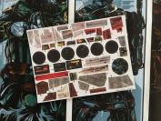 Star Wars Vintage Custom repro die cut stickers decals labels 2004 MILLENNIUM FALCON - 2004 Original Trilogy