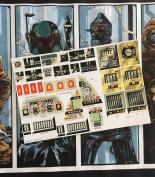 Star Wars Vintage Custom repro die cut stickers/decals/labels Rebel Troop Transporter