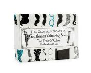 Clovelly Soap Co Natural Handmade Gentleman's Shaving Soap Bar For All Skin Types 100g