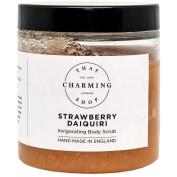 Strawberry Daiquiri Body Scrub (350g) - Pink Himalayan Salt - Jojoba Oil - Vegan - Cruelty Free - Hen Do Gift - Cocktail Gift