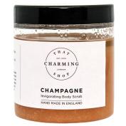 Champagne Body Scrub (350g) - Pink Himalayan Salt - Jojoba Oil - Vegan - Cruelty Free - That Charming Shop - Hen Do Gift - Champagne Gift