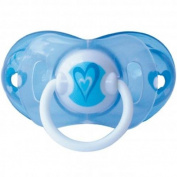 Soother elemed Magic Intelligent Anatomical Silicone Teat Mis. 2 Blue Heart