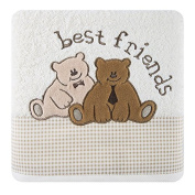 Children's Terry Towelling Bath Towel 50x90 cm Absorbent 450 GSM 16/01 Cream Best Friends Bear
