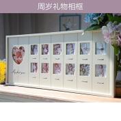 Children's growth commemorative photo frame, creative birthday gift
