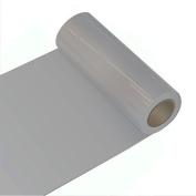 Oracal 621 Self-Adhesive Film for Cars or Furniture - 63 cm x 5 m Roll, 5 m (L) x 63 cm (W), silver grey
