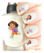 Easy to use, High Quality Nail Art Decal Stickers For Every Occasion! Ideal Christmas Present / Gift - Great Stocking Filler Dora the Explorer
