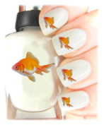 Easy to use, High Quality Nail Art Decal Stickers For Every Occasion! Ideal Christmas Present / Gift - Great Stocking Filler Goldfish