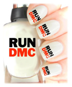 Easy to use, High Quality Nail Art Decal Stickers For Every Occasion! Ideal Christmas Present / Gift - Great Stocking Filler Run DMC