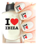 Easy to use, High Quality Nail Art Decal Stickers For Every Occasion! Ideal Christmas Present / Gift - Great Stocking Filler I Love Ibiza