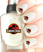 Easy to use, High Quality Nail Art Decal Stickers For Every Occasion! Ideal Christmas Present / Gift - Great Stocking Filler Jurassic Park
