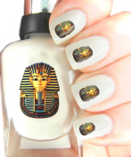 Easy to use, High Quality Nail Art Decal Stickers For Every Occasion! Ideal Christmas Present / Gift - Great Stocking Filler Tutankhamun