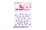 3D Nail art stickers, professional quality.