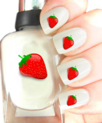 Easy to use, High Quality Nail Art Decal Stickers For Every Occasion! Ideal Christmas Present / Gift - Great Stocking Filler Strawberry