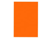 A4 Orange Gloss Vinyl Self Adhesive Sheet Grade A Quality, Craft Robo Silhouette Cameo