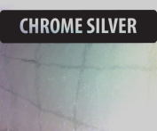 A4 Chrome Silver Vinyl Self Adhesive Sheet Grade A Quality, Craft Robo Silhouette Cameo