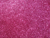 1 x Self Adhesive Foam Glitter Sheet Fuchsia 1mm Thick 215mm x 295mm