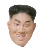 Laughing Kim Jong Mask by Rubber Johnnies , Korean Ruler , Rocketman, One Size …