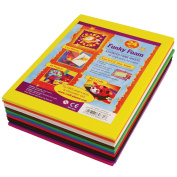docrafts Craft Planet A5 Funky Foam - Assorted Colours
