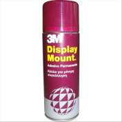 3M 59100 Spray Display Mount Adhesive for Reliable and Immediate Adhesion, 400 ml