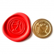 A Single BOILED EGG Coin Seal XWSC021