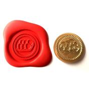 A Single EGG BOX Coin Seal XWSC020