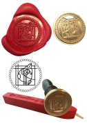 Wax Stamp, MACKINTOSH Coin Seal and Red Wax Stick XWSC093-KIT