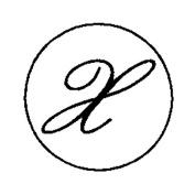 Artemio 18 mm X Stamp for Sealing-Wax, Gold