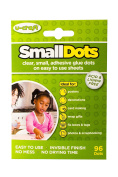 Small Dots - 6 sheets of 16 Glue dots - Permanent, Double-sided, Sticky, Adhesive Dots for Creative Hobbies, Arts & Crafts & Other Projects