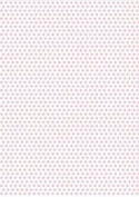 5 x A4 Light Pink Polka Dot Card Stock, Dot Size:- Medium - PD11