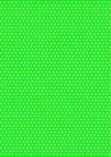 5 x A4 Light Green Back Polka Dot Card Stock, Dot Size:- Medium - PD82