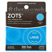 Zots Clear Memory Adhesive Dots #83 Large