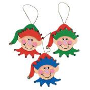 Elf Ornament Craft Kit - Crafts for Kids & Ornament Crafts