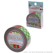 10 Metre Paper Self Adhesive Gift Tape Christmas Snowman Ever Feel Like That Final Funky Touch