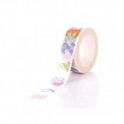 creafirm – 10 m Roll Masking Tape Numbers 0 to 9)