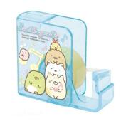 cute blue glitter Sumikkogurashi adhesive tape dispenser by San-X