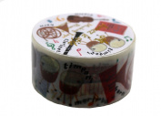 Aimez Le Style Primaute Collection New Music Instruments Washi Masking Deco Tape Semi Wide.