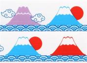 big cute mountain sea sun Deco Tape 25m