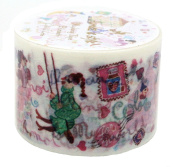 Aimez Le Style Primaute Collection Colourful Letter Washi Masking Deco Tape Wide.