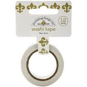 Cupcake Creations Washi Tape, 15mm by 12-Yard, Fleur De Lis by Cupcake Creations