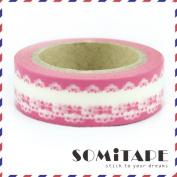 Pink Bows Washi Tape, Craft Decorative Tape