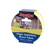 SupaDec Hi-Vis Duct Tape 50X25M