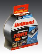 UniBond Power Tape Plus 20% Silver 50mm x 25m