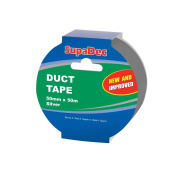 SupaDec Duct Tape 50m Roll Silver