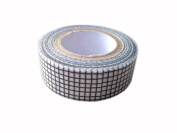 Set of 2 [Black Cell] Tear-off Adhesive Tape Masking Tape Washi Tape