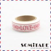 Love Washi Tape, Craft Decorative Tape