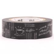 grey chalkboard pencil pen mt Washi Masking Tape deco tape