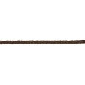 8300205 - RAYHER - 8300205 - Geflochtenes Kunstlederband, 4 mm, SB-Btl. 1,5 m, d.braun
